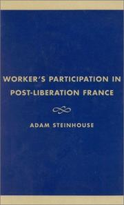 Cover of: Workers' Participation in Post-Liberation France
