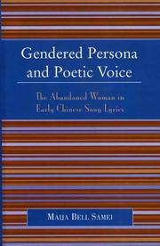 Cover of: Gendered Persona and Poetic Voice