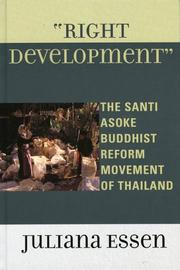 Cover of: Right Development