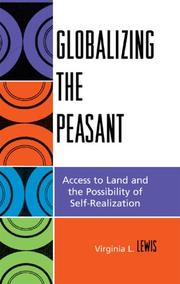 Cover of: Globalizing the Peasant