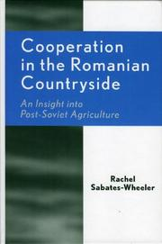 Cover of: Cooperation in the Romanian Countryside