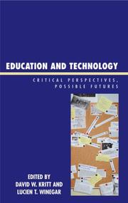 Cover of: Education and Technology