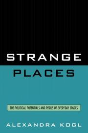 Cover of: Strange Places