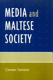 Cover of: Media and Maltese Society