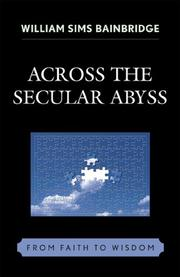 Cover of: Across the Secular Abyss