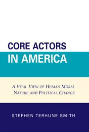 Cover of: Core Actors in America