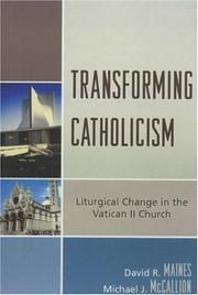 Cover of: Transforming Catholicism