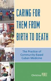 Cover of: Caring for Them from Birth to Death