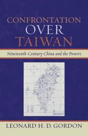 Cover of: Confrontation over Taiwan
