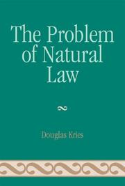 Cover of: The Problem of Natural Law