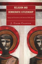 Cover of: Religion and Democratic Citizenship