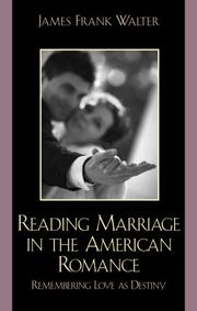 Cover of: Reading Marriage in the American Romance