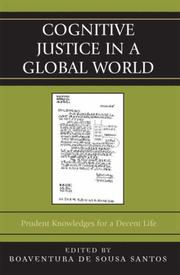 Cover of: Cognitive Justice in a Global World