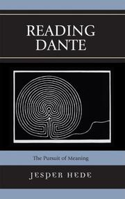 Cover of: Reading Dante