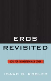 Cover of: Eros Revisited