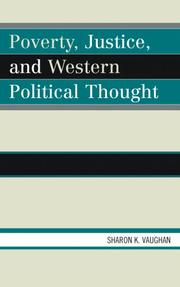 Cover of: Poverty, Justice, and Western Political Thought