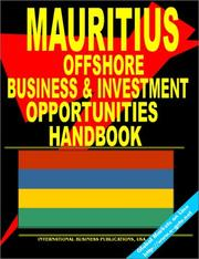 Cover of: Mauritius Offshore Business and Investment Opportunities Handbook