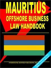 Cover of: Mauritius Offshore Business Law Handbook
