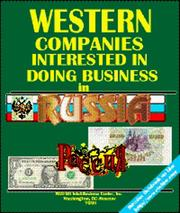 Cover of: Western Companies Interested in Doing Business in Russia