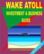 Cover of: Wake Atoll Investment and Business Guide