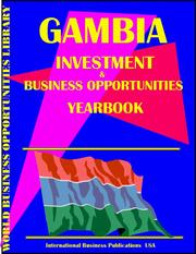 Cover of: Gambia Business & Investment Opportunities Yearbook