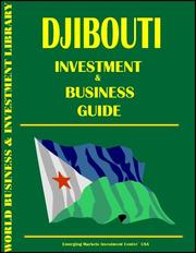 Cover of: Djibouti Investment and Business Guide
