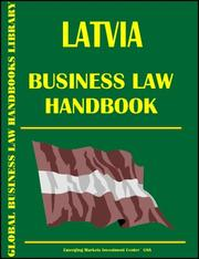 Cover of: Lebanon Business Law Handbook (World Business Law Handbook Library) | Global Investment & Business Inc