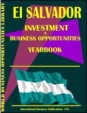 Cover of: El Salvador Business & Investment Opportunities Yearbook