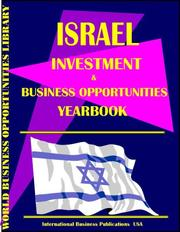 Cover of: Israel Business & Investment Opportunities Yearbook