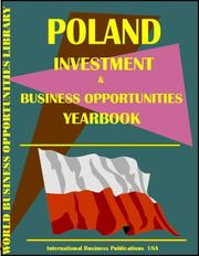 Cover of: Poland Business & Investment Opportunities Yearbook