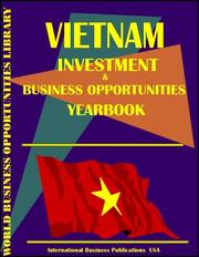 Cover of: Vietnam Business & Investment Opportunities Yearbook