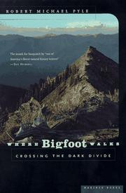 Cover of: Where Bigfoot walks