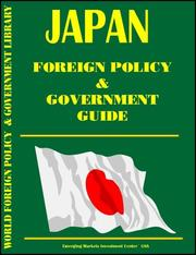 Cover of: Japan Foreign Policy And Government Guide