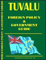 Cover of: Tuvaly Foreign Policy and Government Guide | Global Investment & Business Inc