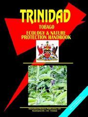 Cover of: Trinidad And Tobago Ecology & Nature Protection Handbook