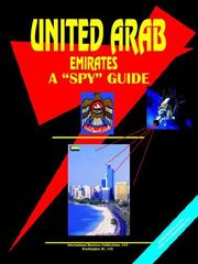 "Cover of: United Arab Emirates A ""Spy"" Guide"