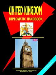 Cover of: UNITED KINGDOM DIPLOMATIC HANDBOOK