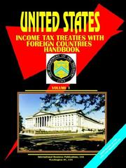 Cover of: US Income Tax Treaties with Foreign Countries Handbook. Vol. 1