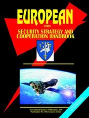 Cover of: EU Security Strategy And Cooperation Handbook