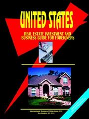 Cover of: US Residential Real Estate Investment & Business Guide for Foreigners