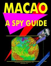 Cover of: Macao