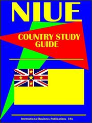 Cover of: Niue Country | USA International Business Publications