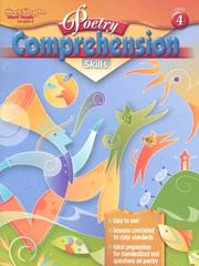 Cover of: Poetry Comprehension Grade 4 (Poetry Comprehension)