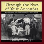 Cover of: Through the eyes of your ancestors | Maureen Alice Taylor