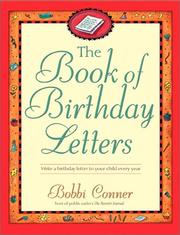 Cover of: The Book Of Birthday Letters