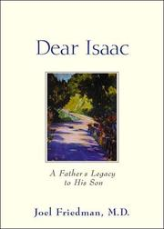 Cover of: Dear Isaac A Father'S Legacy To His Son