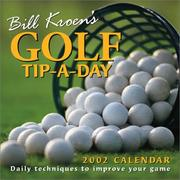 Cover of: Bill Kroen's Golf Tip-A Day 2002 Day-To-Day Calendar