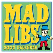 Cover of: Mad Libs 2002 Day-To-Day Calendar | Leonard Stern