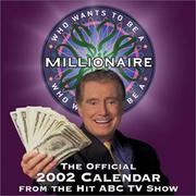 Cover of: Who Wants To Be A Millionaire 2002 Day-To-Day Calendar