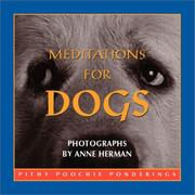 Cover of: Meditations For Dogs